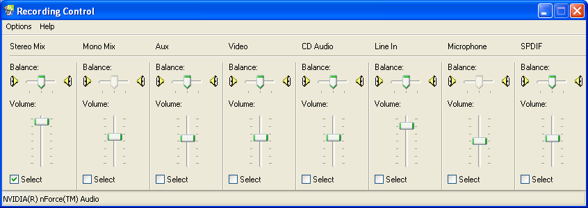 john s home homepages xp soundcard config